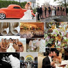 Ivory and Orange wedding ideas