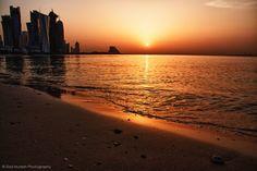 Sunrise #Doha #Qatar