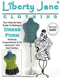 FREE SAMPLE GUIDEBOOK | Liberty Jane Doll Clothes Patterns For American Girl Dolls