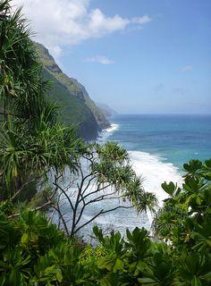 On the Kalalau Trail, Kauai