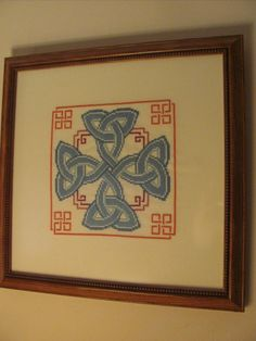 Celtic knotwork picture