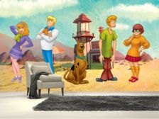 Scoody Doo Montage wall mural