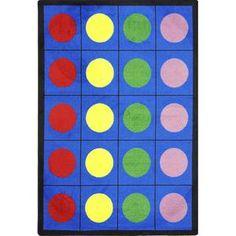 Lots of Dots Preschool Rug - L.D.'s Favorite