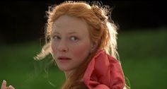 Cate Blanchette as the young Elizabeth I.