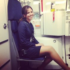 SAS Stewardess Fly me to the moon ✈✈❤