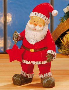 """Weihnachtsdekoration """"Weihnachtsmann"""" - Dieser Klassiker darf bei Ihrer Weihnachtsdekoration nicht fehlen. Auch als Wichtelgeschenk eine schöne Idee."""