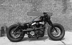 Harley Cafe racer Sportster 48, want to get something like this when I can drive!!!