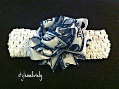 Philadelphia Eagles Baby Girl Bow Headband by StyleMeLovely00, $6.00