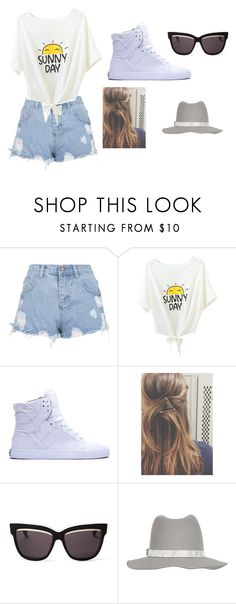 """34r5bu6n"" by shanon-barrios ❤ liked on Polyvore featuring Topshop, Supra, Christian Dior and rag & bone"
