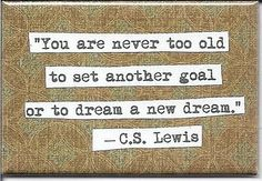 C.S. Lewis - need to remember this when I'm tired