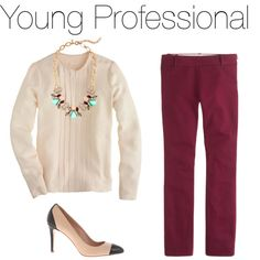 """""""Young Professional Outfit"""" by charlee-anne on Polyvore"""