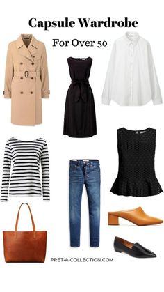 Capsule Wardrobe Women, Fashion Capsule, Over 50 Womens Fashion, Fashion Over 50, Mode Outfits, Fashion Outfits, Fashion Trends, Women's Fashion, Casual Summer Dresses