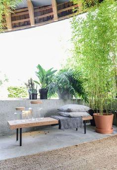 IKEA Garden Bench for the outdoor
