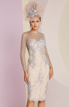 Veni Infantino 991446 Mother of Bride Outfit - Colour Platinum & Rose - Price Buy online today with next day delivery - money-back guarantee. Mother Of The Bride Fashion, Mother Of Bride Outfits, Mother Of Groom Dresses, Mother Bride, Mob Dresses, Bridesmaid Dresses, Evening Dresses For Weddings, Wedding Dresses, Wedding Outfits