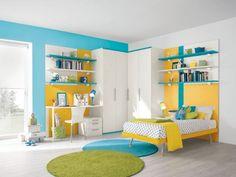 chambre enfant bleu canard - Recherche Google | Enfants modernes ...