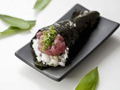 Thunfisch-Sushi mit Negi