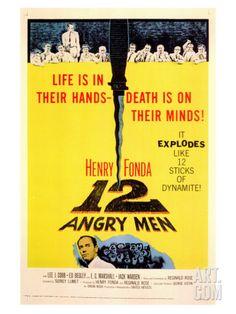 Twelve Angry Men, 1957 Giclee Print at Art.com