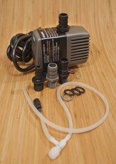 Pumps for aquaponics