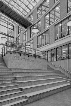 Verftsgata 2 (2015) – ARC arkitekter Louvre, Stairs, Building, Travel, Home Decor, Stairway, Viajes, Decoration Home, Staircases