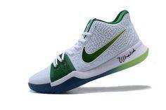 on sale 43435 815dd Mens Nike Kyrie 3 Boston Celtics PE Kyrie Irving Basketball Shoes Kyrie  Basketball, Kyrie Irving