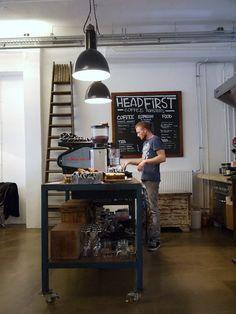 Vosgesparis: Harvest & Company - Headfirst Coffee Roasters   Amsterdam