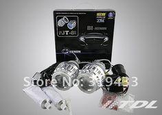 "Fast Shipping 35W Ballasts Blocks G8 Bi- Xenon Projector Lens Kits 2.5"" inch White Blue Angle Eyes H4 H13 H1 H7 9004 9006 9007"