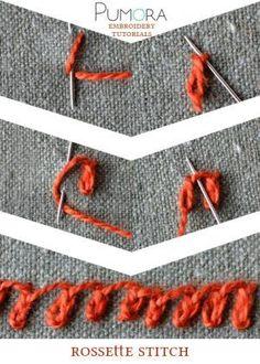 Rosette stitch - Pumora