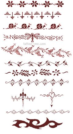 Good bracelet wrist tattoo ideas...most are delicate and feminine...I would just like color, too