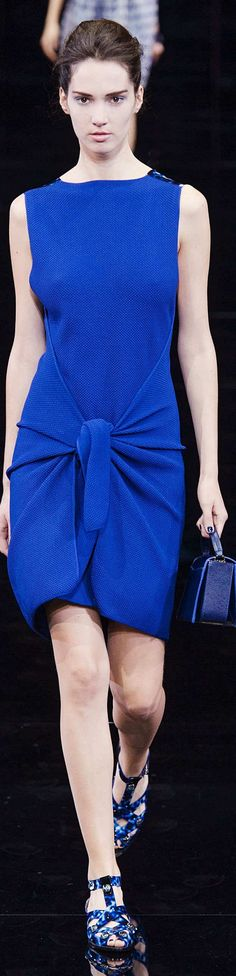 Emporio Armani Collection Spring 2015 | The House of Beccaria~