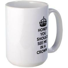Sherlock Crown Mug on CafePress.com