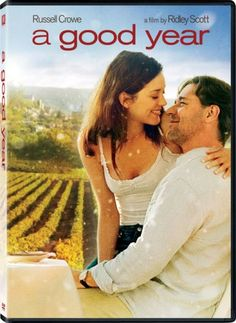 A Good Year (2006) - Russell Crowe plays Wall Street mogul Max Skinner who discovers a different side of himself when he returns to French wine country to mourn the death of an uncle. He is romanced by the routine of the vineyards and also by the alluring Fanny Chenal (Marion Cotillard) and must decide which type of life best suits him, or face a balancing act between both. #winemovie #wine
