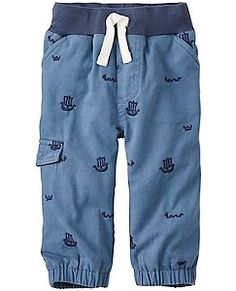 Another great find on Voyager Embroidered Cargo Joggers - Infant & Toddler by Hanna Andersson Toddler Girl Outfits, Toddler Dress, Infant Toddler, Kids Fashion Boy, Cute Shoes, Girls Shoes, Joggers, Hanna Andersson, Clothes