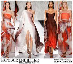 Monique Lhuillier, Spring/Summer 2014: New York Fashion Week - TheFashionCourt.com Favorites   #fashion #style #thefashioncourt #NYFW #spring #summer #runway #fashionshow