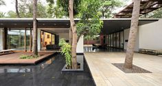 Completed in 2017 in Umargam, India. Images by Krunal Mistry. The Portal House is conceived with the idea of creating multiple overlaps of personal and public domains catering to the idea of solitude as well as...