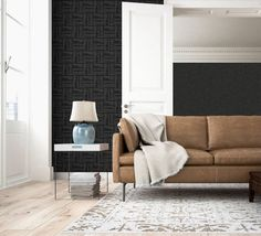 The home of bold & beautiful wallpaper in Australia. Shop over 9000 designs. Trellis Wallpaper, Piece A Vivre, Decoration, Creations, Couch, Gris Violet, Beautiful Wallpaper, Design, Yellow