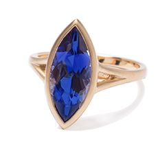 Tanzanite ring - Kimberly Collins Colored Gems