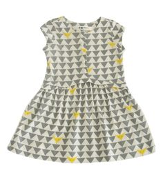 OmamiMini Dress with Button Front - Fox Print (SS14)