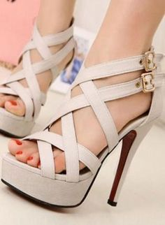 Ladies High Heel Fashion Evening Strappy Shoes Sandals,  Shoes, fashion high heel ladies shoes, Chic