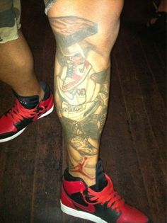 30 Sneaker Inspired Tattoos - The Good and The Bad | KicksOnFire.com