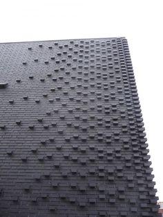 brick facade , Marc Koehler Architects, Amsterdam,