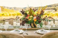April Flowers. Photography by Cameron Ingalls Photography. HammerSky Vineyards. Archive Rentals.