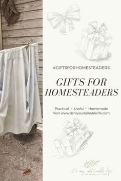 Buying gifts for homesteaders, no matter the occasion, can be a struggle. It doesn't have to be! Let this gift guide with homesteaders in mind aid in finding that perfect gift. | It's My Sustainable Life @itsmysustainablelife #homesteadergiftguide #giftsforhomesteaders #giftsforher #giftsforhim #giftsforbestfriends #giftsforthehomestead #itsmysustainablelife Best Friend Gifts, Best Gifts, Gifts For Boys, Gifts For Her, Homestead Gardens, Subscription Gifts, Tree Care, Old Fashioned Recipes, Homesteads