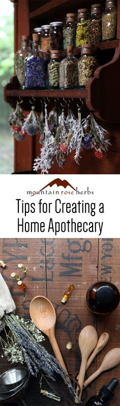 Tips for Creating a Home Herbal Apothecary - Learn how to start and care for your herbalism supplies from an experienced homesteading herbalist!