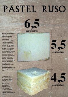 De Bilbao de toda la vida: Pastel Ruso