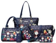Womens Forest Print Series Shoulder Handbag Set - Beaded Creations - South Africa Beading Supplies, Jewelry Making Supplies, Shoulder Handbags, Shoulder Bag, Designer Totes, Pocket Pattern, Types Of Bag, Casual Bags, Luggage Bags
