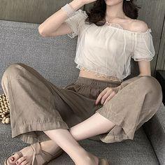 Korean Girl Fashion, Korean Fashion Trends, Korean Street Fashion, Ulzzang Fashion, Asian Fashion, Cute Casual Outfits, Girl Outfits, Fashion Outfits, Hijab Fashion