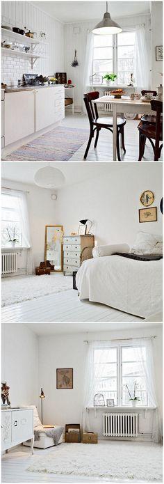 Table shelf above radiator perfect Peaceful Bedroom, Home Studio Music, Home Hacks, Beautiful Interiors, Cozy House, Home Goods, Sweet Home, Room Decor, House Design