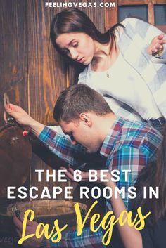 Best Escape Rooms in Las Vegas: The Top 6 Escape Games Las Vegas Tips, Visit Las Vegas, Us Travel Destinations, Travel Tips, Vegas Activities, Vegas Strip, Best Casino, Sin City, Escape Room