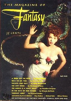 The Magazine of Fantasy & Science Fiction-- (later Fantasy & Science Fiction and usually referred to as just F&SF) is a digest-size American fantasy and science fiction magazine first published in 1949 by Mystery House and then by Fantasy House. Both were subsidiaries of Lawrence Spivak's Mercury Publications, which took over as publisher in 1958. Spilogale, Inc. has published the magazine since 2001. Since the April/May 2009 issue, it is published bimonthly with 256 pages per issue.