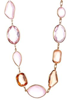 Simply Rolo Rose Necklace by Cabana Style: Luxe Jewelry on @HauteLook